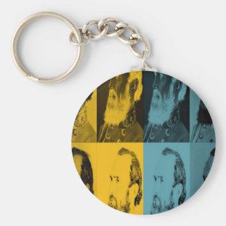 More Mighty Stonewall Jackson Basic Round Button Keychain