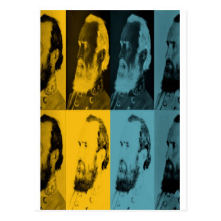 More Mighty Stonewall Jackson Postcard