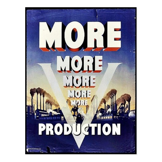More More More Production Postcard