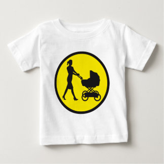 more mother with baby in buggy baby T-Shirt