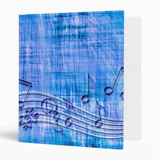 more music blue 3 ring binder