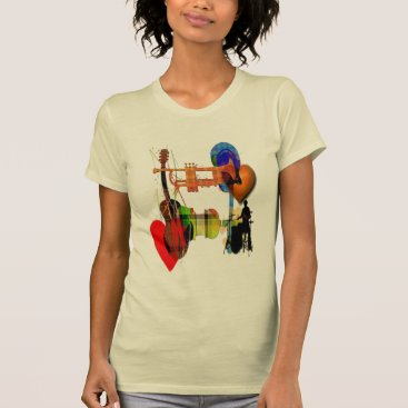 Beach Themed more music maker music lovers  summer top design