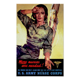 More Nurses Needed Poster