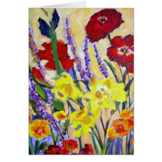 More of Dianne's Flowers Greeting Card