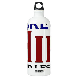 More of Him Aluminum Water Bottle