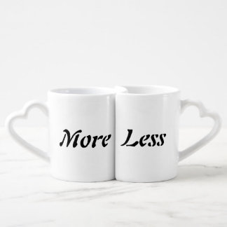 More or Less Mugs Lovers Mug