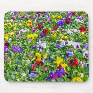 More Pansies Mouse Pad