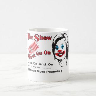 More peanuts. coffee mug