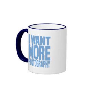 More Photography Ringer Coffee Mug
