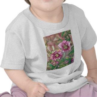 More pink hellebores t-shirt