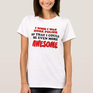 More Polish More Awesome T-Shirt