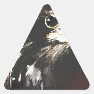 More Problems Triangle Sticker