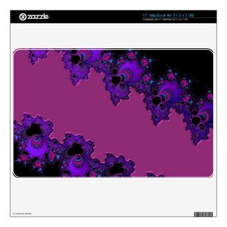 "More Purple Fractals Skins Skins For 11"" MacBook Air"