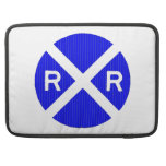 More Railroad Signs MacBook Pro Sleeve
