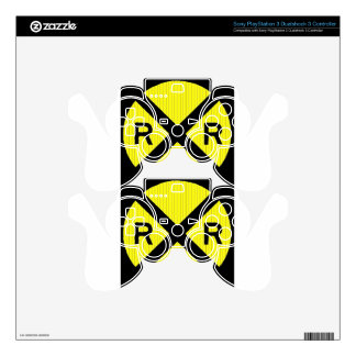 More Railroad Signs Decal For PS3 Controller