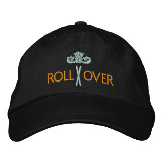 MORE ROLLOVER with Crown - 004 Embroidered Baseball Cap