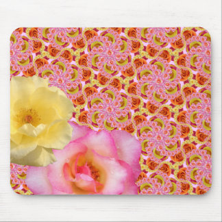 More Roses for Amina Sm Any Color Mouse Pad