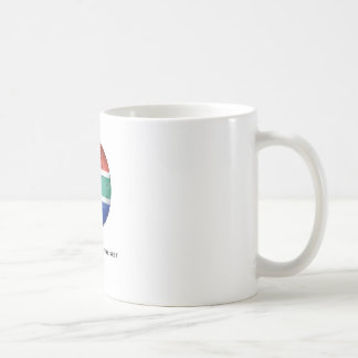 more rounder than the rest classic white coffee mug