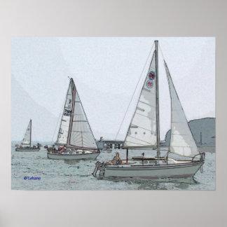 More Sailing Poster