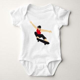 more skater baby bodysuit