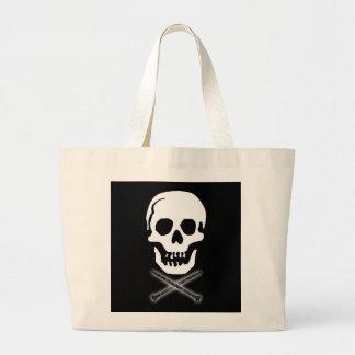 More Skull and Clarinets Tote Bag