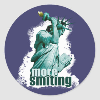 More smiting! Statue of Liberty sticker