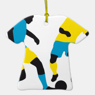 more soccer players Double-Sided T-Shirt ceramic christmas ornament