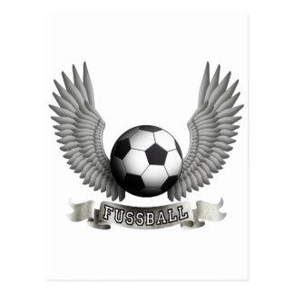 more soccer post card