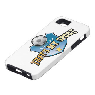 more soccer - that's my sport iPhone SE/5/5s case