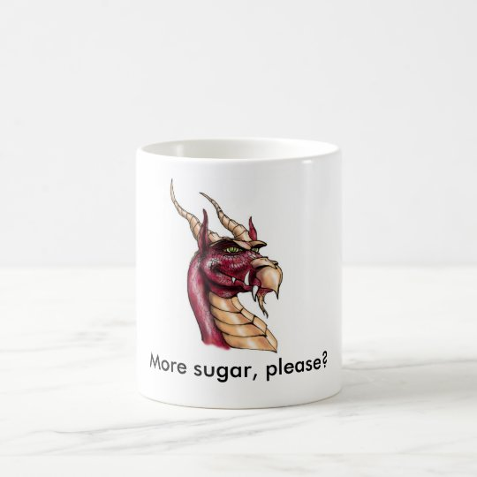 More sugar, please? coffee mug