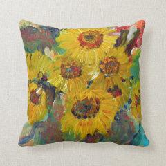 more sunflower pillow