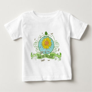 more sunflower retro Design - some acres the Baby T-Shirt