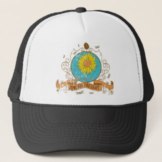 more sunflower retro Design - some acres the Trucker Hat