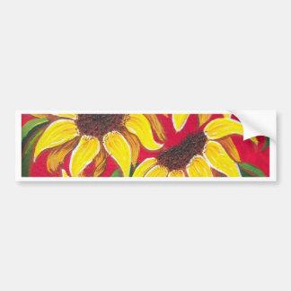More Sunflowers Car Bumper Sticker
