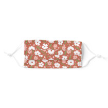 More Sweetheart Flowers Face Mask