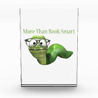More Than Book Smart Book Worm Award