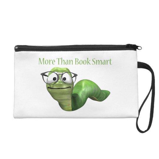 More Than Book Smart Book Worm Wristlet Purse