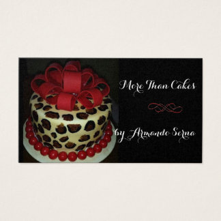 More Than Cakes Business Card