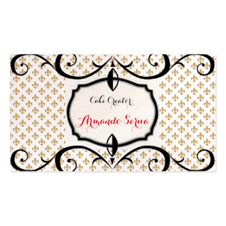 More Than Cakes Elegant Business Card