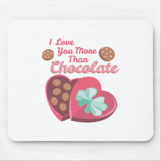 More Than Chocolate Mouse Pad