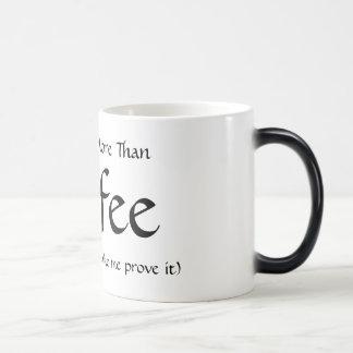 More Than Coffee 11 Oz Magic Heat Color-Changing Coffee Mug