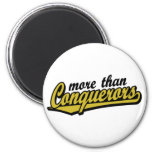 More than conquerors fridge magnets