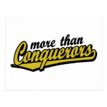 More than conquerors post card