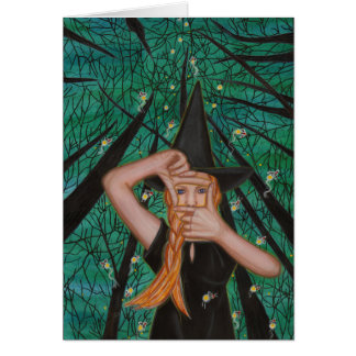 More Than Who You Think You See I Am - Witch Note Card