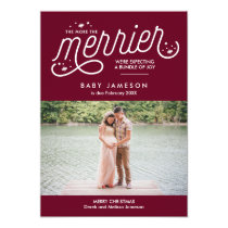 More the Merrier Christmas Pregnancy Announcement