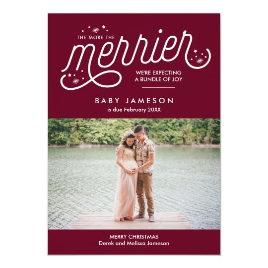 Pregnancy Announcement Cards Greeting Photo Zazzle