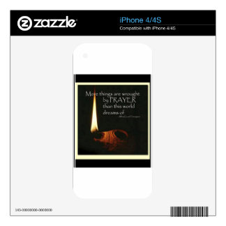 More Things Are Wrought By Prayer Skins For The iPhone 4