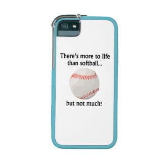 More To Life Than Softball Case For iPhone 5