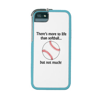 More To Life Than Softball Cover For iPhone 5/5S