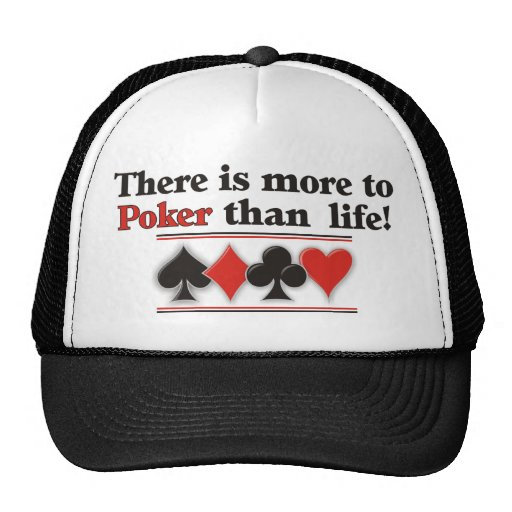 More to Poker Trucker Hats